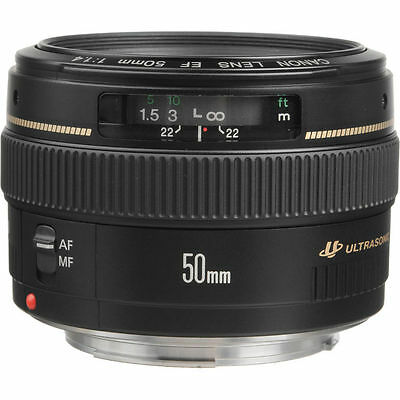 NEW Canon EF 50mm f/1.4 USM Lens UK DISPATCH