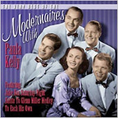 The Modernaires- Very Best Of Modernaires With Paula Kelly - Cd