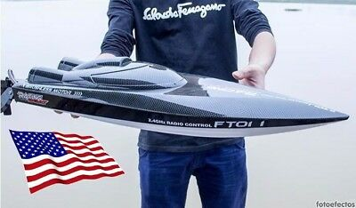 Feilun FT011 65CM 2.4G Brushless RC Boat High Speed Racing Boat RTR!