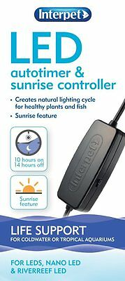 Interpet LED Auto Timer and Sunrise Controller For Aquarium Lights
