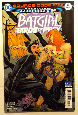 Dc Comics Rebirth Batgirl Birds Of Prey #13 2017 Catwoman Poison Ivy Sirens Vf+