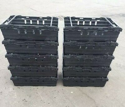 *** SPECIAL OFFER *** 5 x Bail Arm Crates / Bale Arm Plastic Stacking Boxes