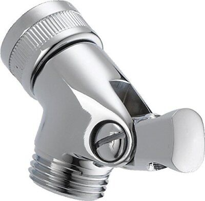 ALSONS Pin Mount Hand Shower Swivel Connector Solid Brass Chrome Finish 5002 PK