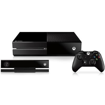 XBOX ONE 500GB CONSOLE INCLUDING KINECT SENSOR Complete Set Used
