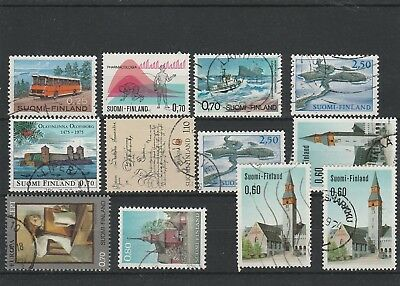 Finland - Assorted Stamps - Used