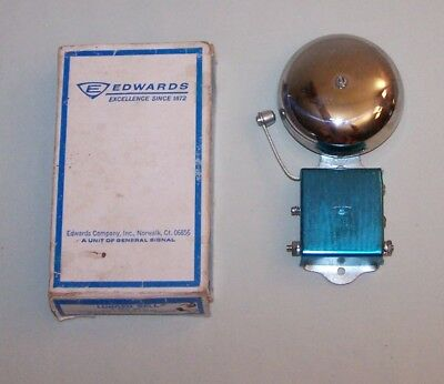 Vintage Edwards Signaling Co Lungen Signal Alarm Bell 3 Inch No. 13-3AB