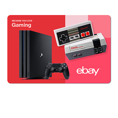 Because You Love Gaming  - eBay Digital Gift Card $15 to $200