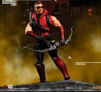 Mezco One:12 DC PX ARSENAL Green Variant Red Arrow Action Figure New Exclusive