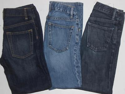 Gap Kids Boy's Jeans Original Boot Lot of 3 Size 10 Slim FREE SHIPPING!