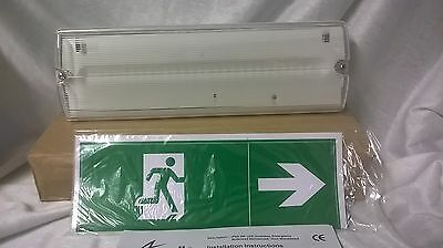 Ancil Emergency Lights Maintained Led Emergency Lights Bnib