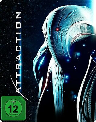 Attraction - Limited SteelBook inkl. 3D- & 2D-Version BLU-RAY NEUF