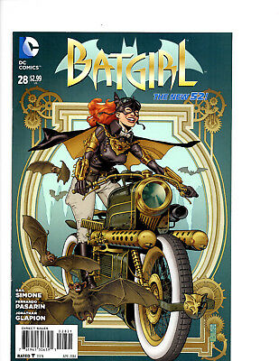 Batgirl #28 (New 52) Steampunk Variant Cover (Nm)