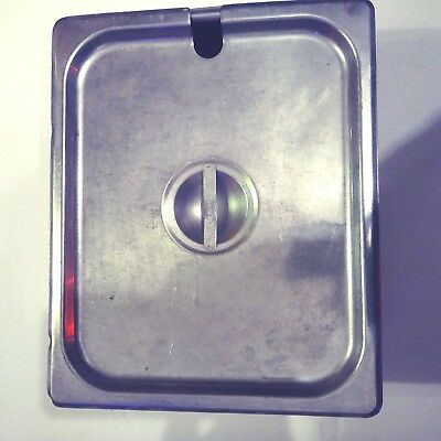 Restaurant Stainless Steel Steam Table Pan w/ tops H0011