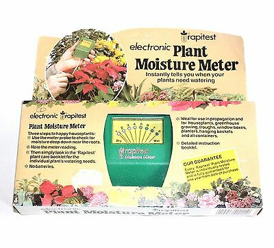 ✨ Plant Moisture Meter By Rapitest ~ Accessories Care Garden Leaf Electronic✨