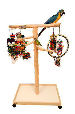 Deluxe Large NU Perch Parrot Climbing Tree - For Large Parrots & Macaws