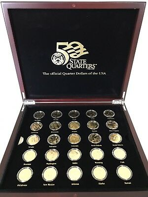Macquarie Mint Gold Coin 50 State Quarters - US MINT