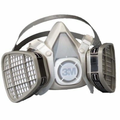 New 3M Dust Paint Mask Half Face Respirator Filter Spray Protect Smoke Gas Small