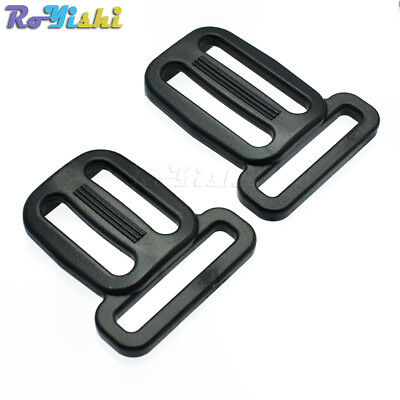 Plastic Multi-fonction Slider Tri-Glide Adjust Buckles Backpack Straps