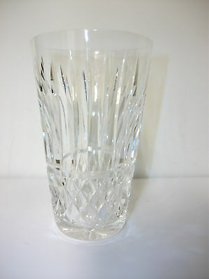 """Waterford Maeve Crystal Cut Glass Highball Tumbler 5 3/8"""" Tall Gorgeous Pattern"""