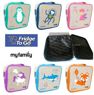 NEW My Family Fridge To Go Insulated Lunch Bag Bag - Cold up to 8 HOURS