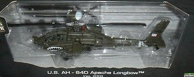 84006 AH-64D Apache Longbow Helicopter Forces of Valor 1:48 die-cast model
