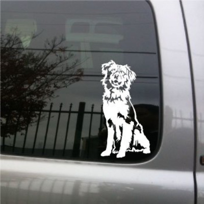 Australian Shepherd Dog vinyl decal small