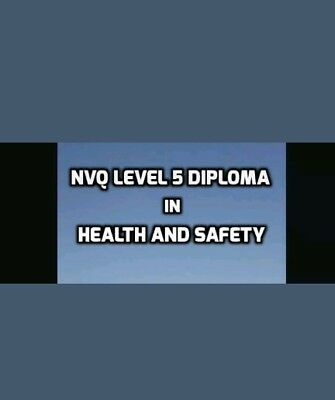 Level 5 NVQ Health And Safety Diploma Complete Portfolio