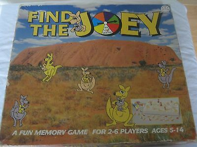 Find The Joey  Game - Crown & Andrews Game 1991