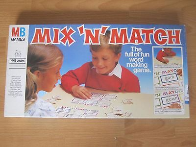 Mix ' N ' Match Game - A Fun Word Making Game For 4-8 Year Children