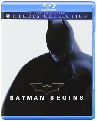 Batman Begins Di Christopher Nolan (Blu-Ray) Nuovo, Italiano, Originale