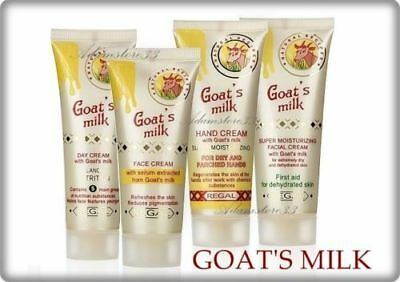 NEW GOAT MILK FACE & HAND CREAM Anti Aging Dryness Moisturizing