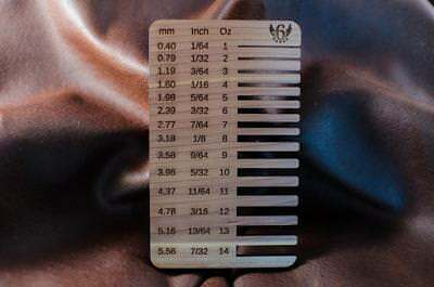 Leather Thickness Gauge