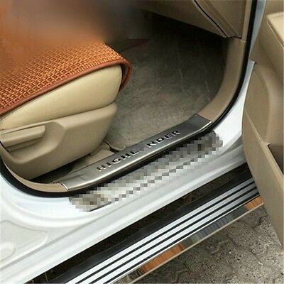 For Toyota Highlander Stainless Steel Inside Door sill scuff plate Guards Sills