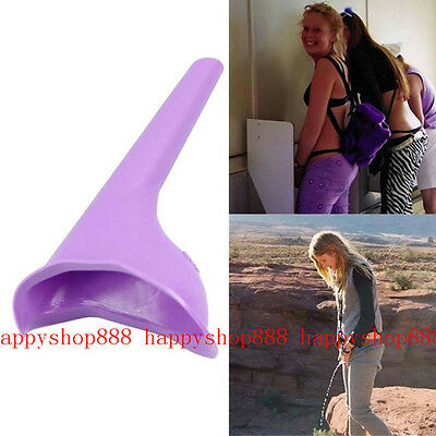 Portable Camping Female Her She Urinal Funnel Ladies Woman Urine Wee Loo Travel*