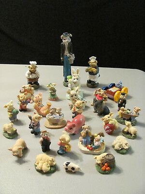 Antique Vintage Collitable  Whatnot Pig Lot Collection Total (30)