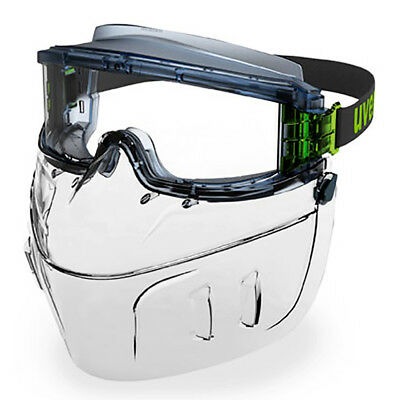 Uvex Ultravision 9301-393F CLEAR Polycarbon Flip Up Lower Face Guard ONLY