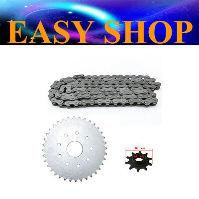 Front Rear Sprocket Cog 415 Chain 49cc 66cc 80cc Motorised Motorized Push Bike