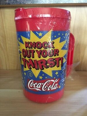 """Lil"""" Champ Coca Cola Alladdin travel mug cup  Knock out your thirst"""
