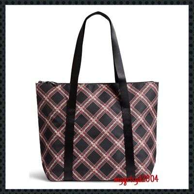 NEW Vera Bradley Insulated Lunch Cooler Tote Bag in Minsk Plaid