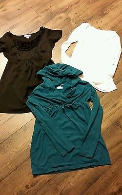 Liz lange maternity 3pc lot XS