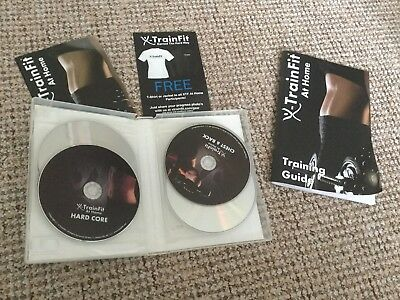 X Train Fit At Home Workouts 8 DVDs
