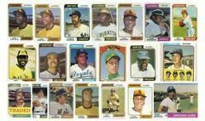 1974 Topps Singles - 50% off cart price - look inside