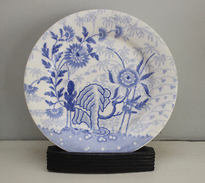 A Smart Blue and White Chinoiserie Plate