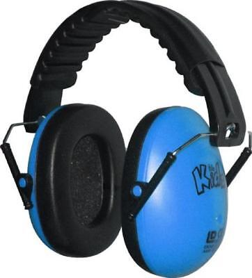 Edz Kidz Childrens Ear Defenders Baby Child Toddler Hearing Safety -Sky Blue