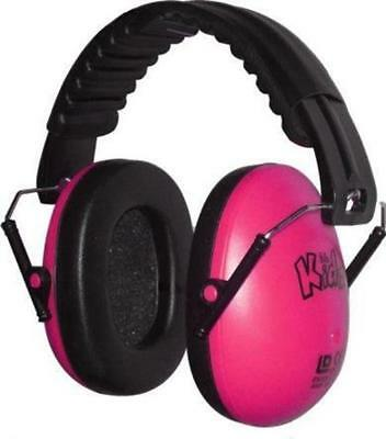 Edz Kidz Childrens Ear Defenders Baby Child Toddler Hearing Safety - Bright Pink