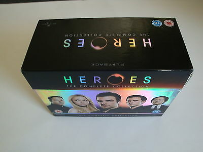 Heroes - The Complete Collection (23 DVD´s)