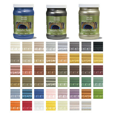 Modern Masters Shimmer Metallic Paint 32oz Many Colors Available Free Shipping