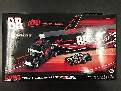 Ingersoll Rand Cole Whitt #88 Collectible Die-cast Hauler And Race Car 1:64