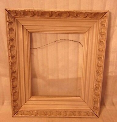 """Vintage mid century french provincial frame 12 3/4 x 15  holds 8x10 molding 3"""""""
