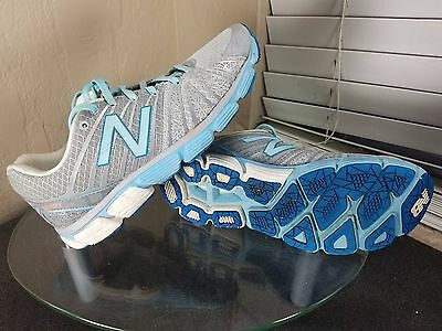 New Balance 890v5 Womens Size 8.5 2A Gray/Blue Running Shoes Sneakers Narrow